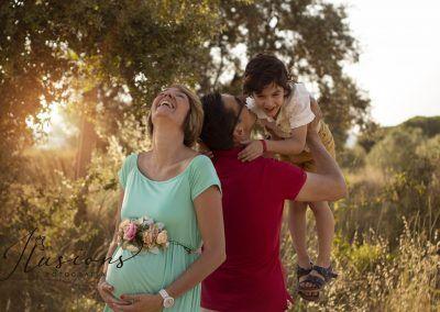 Fotografia embarazo terrassa
